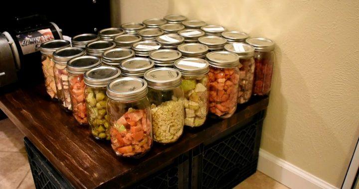Freeze Dried Food Storage